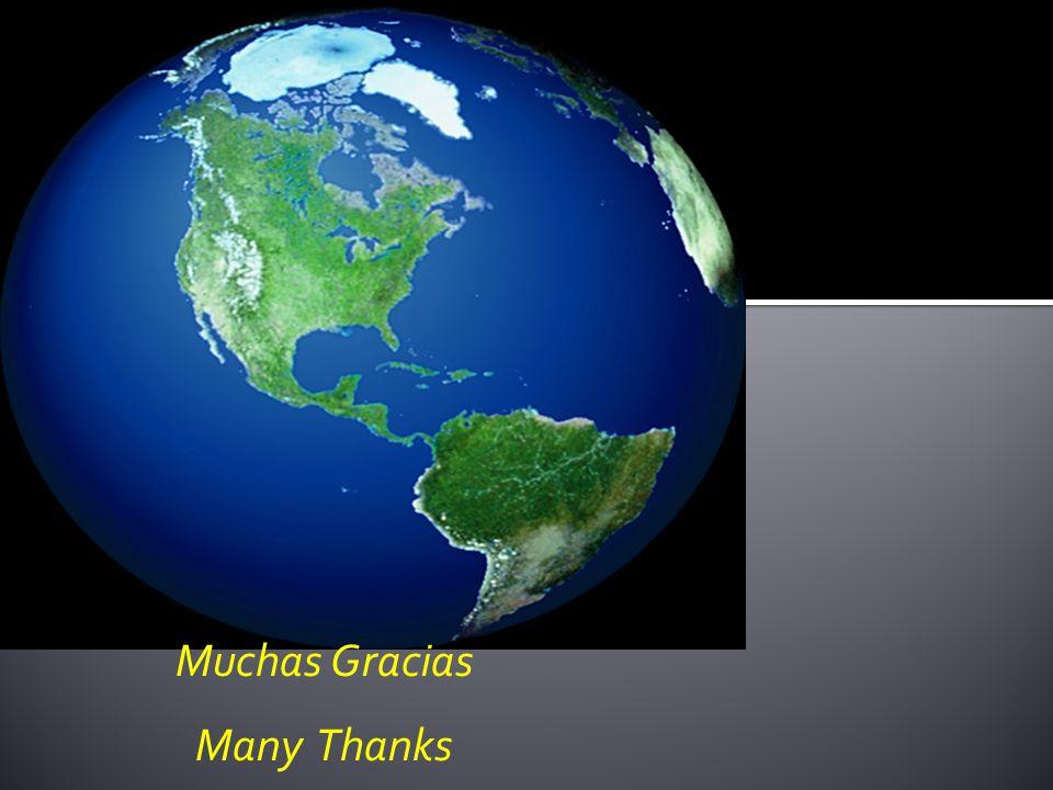 Muchas Gracias Many Thanks