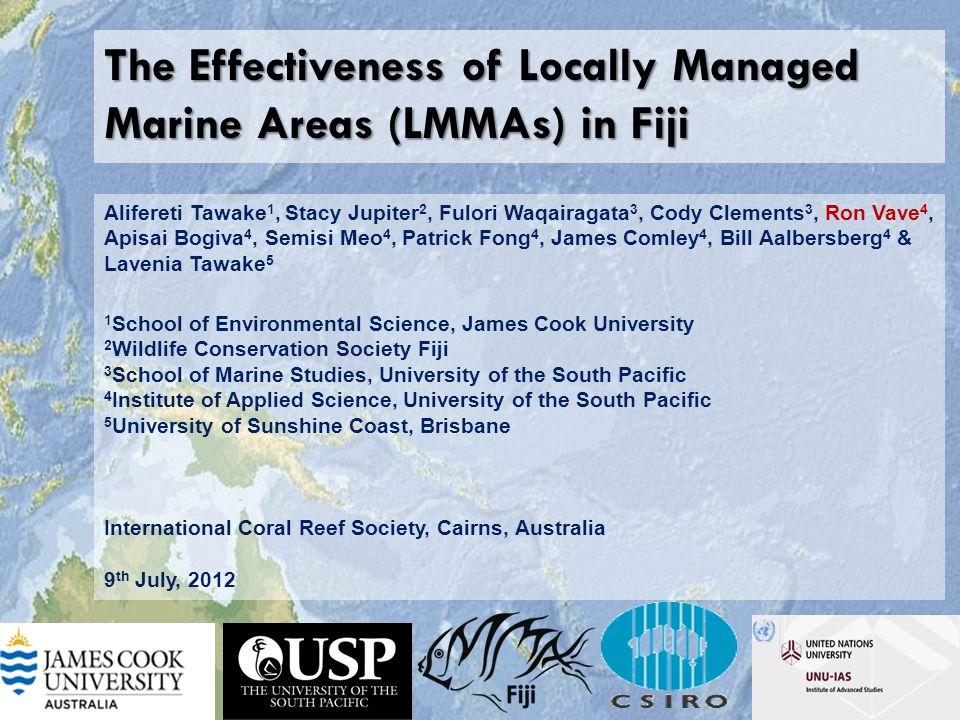  More herbivorous fish inside MPAs MPA Fished Area Waqairagata et al 2011