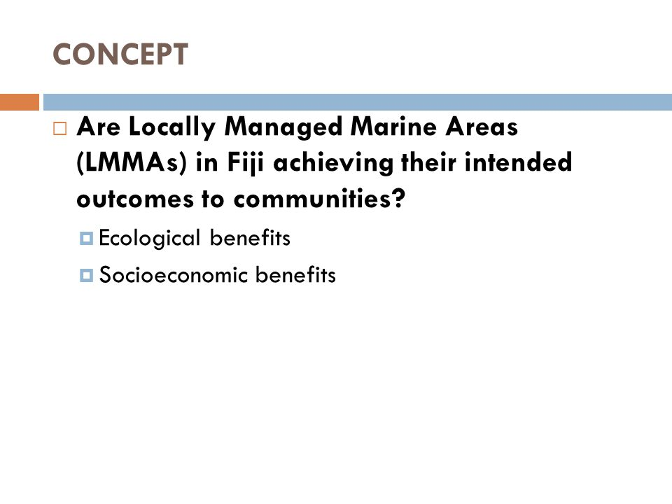 Improved fish catch (Mgmt plan review) Tawake et al 2011