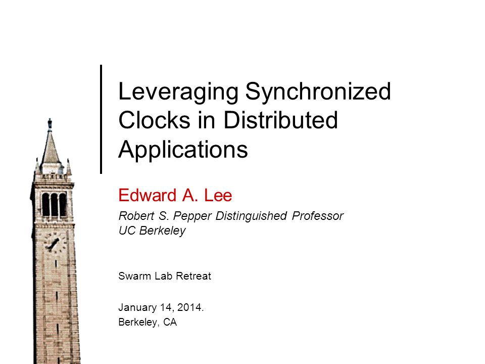 Determinate Models Physical System Model Single-threaded imperative programs Lee, Berkeley22 Image: Wikimedia Commons