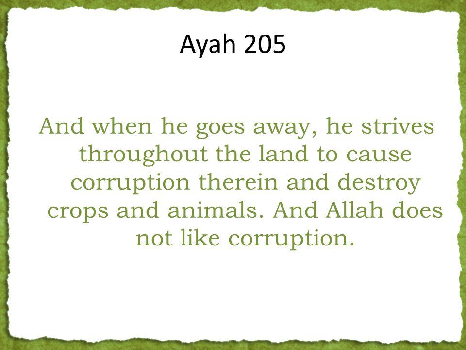 Strives To Create Mischief Destroys the Crops & Women Destroys the Animals