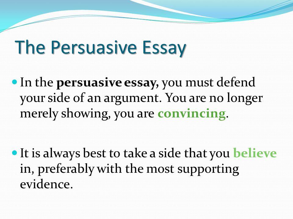 long persuasive essays