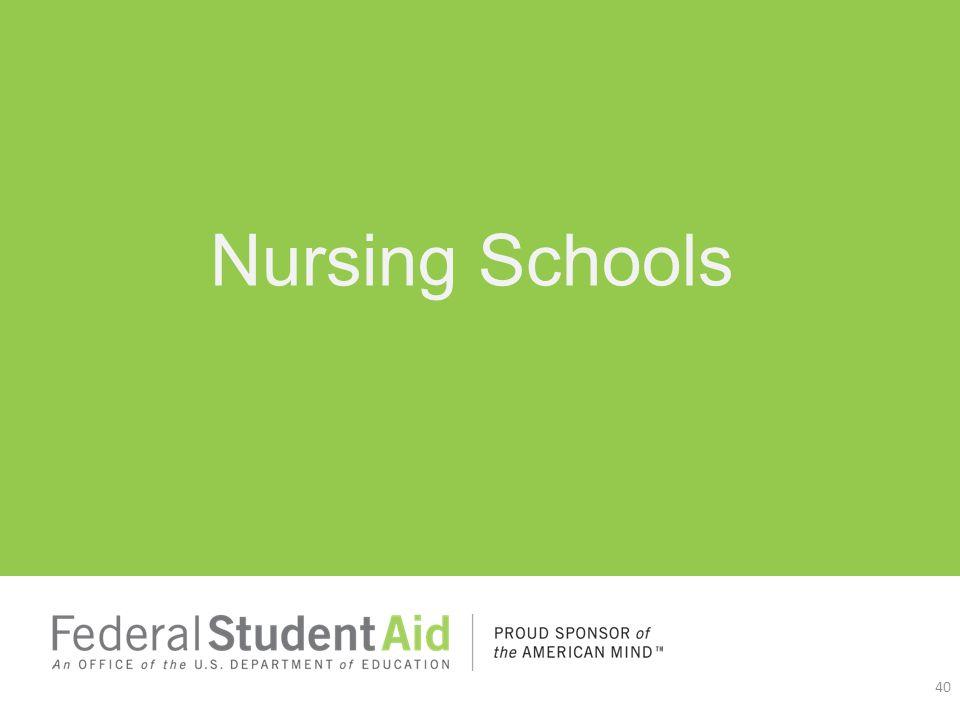 Nursing Schools 40