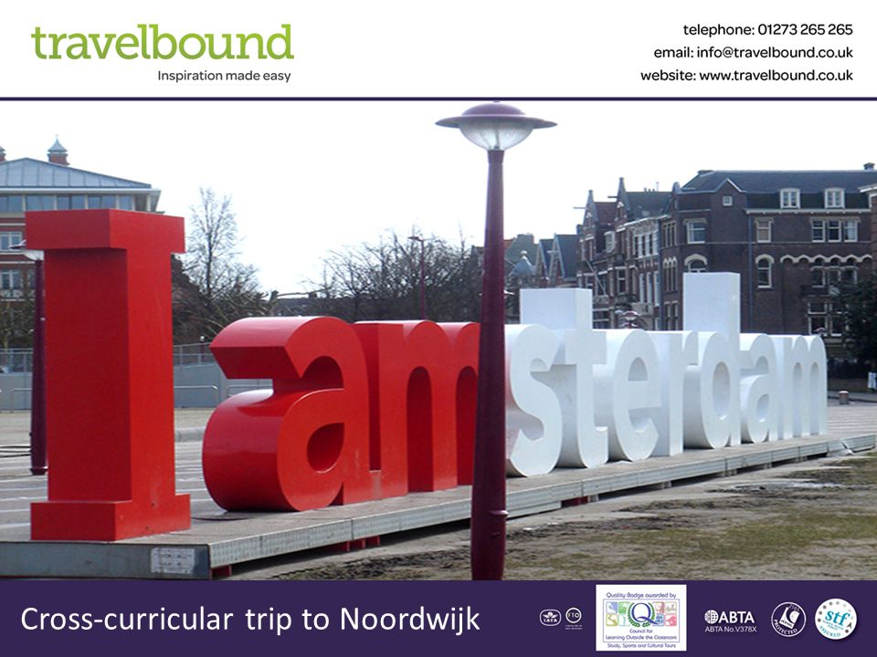 Cross-curricular trip to Noordwijk