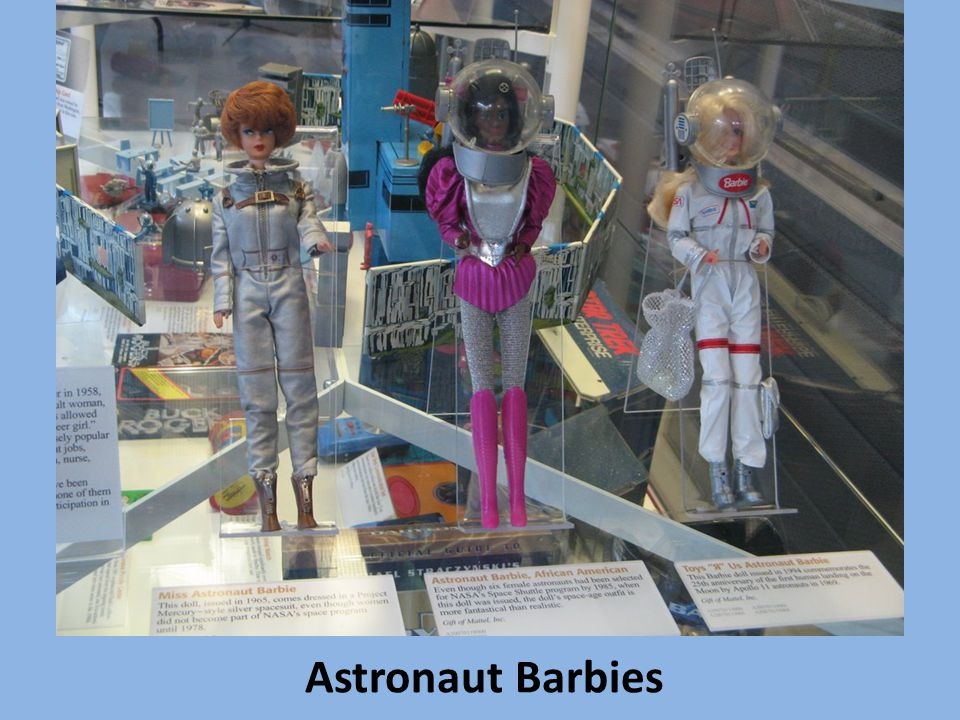 Astronaut Barbies