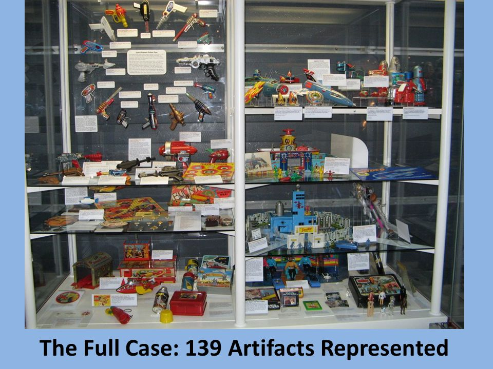 The Full Case: 139 Artifacts Represented