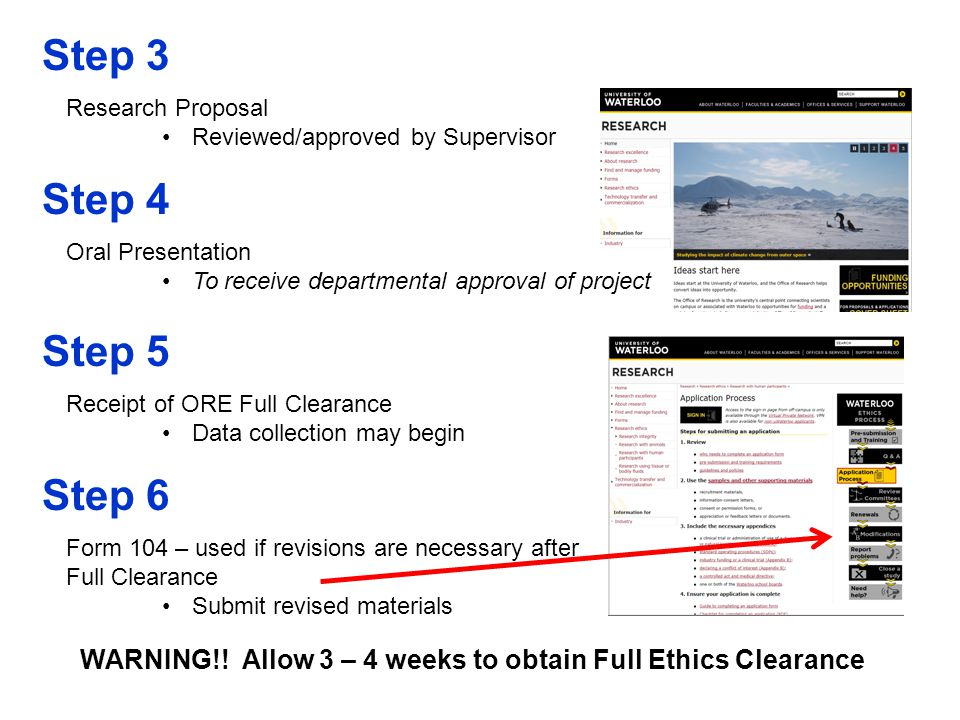 Exemption from ethics review Not sure if you need to submit an ethics application.