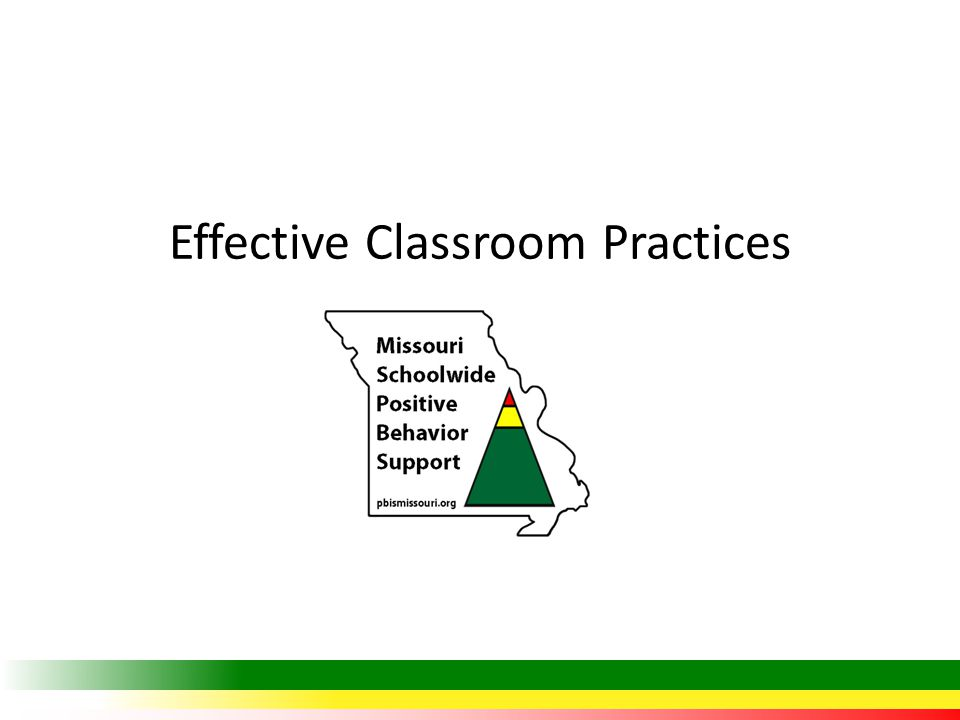 Outcomes At the end of the session, you will be able to… Explain to others the power of positive and proactive strategies in establishing an effective classroom learning environment.