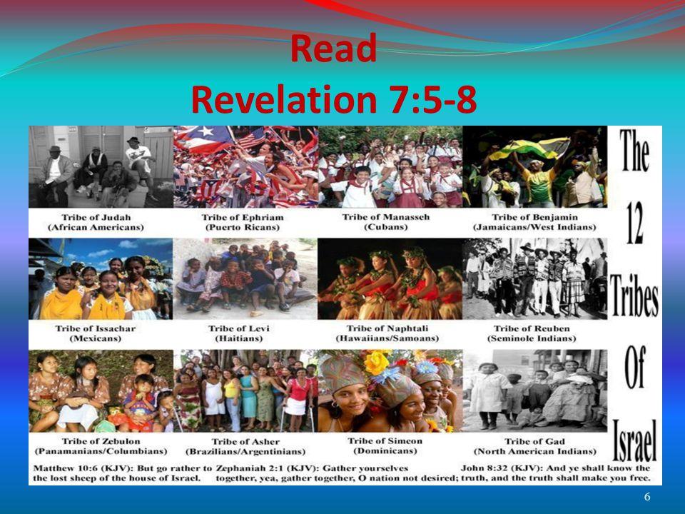 Read Revelation 7:5-8 6