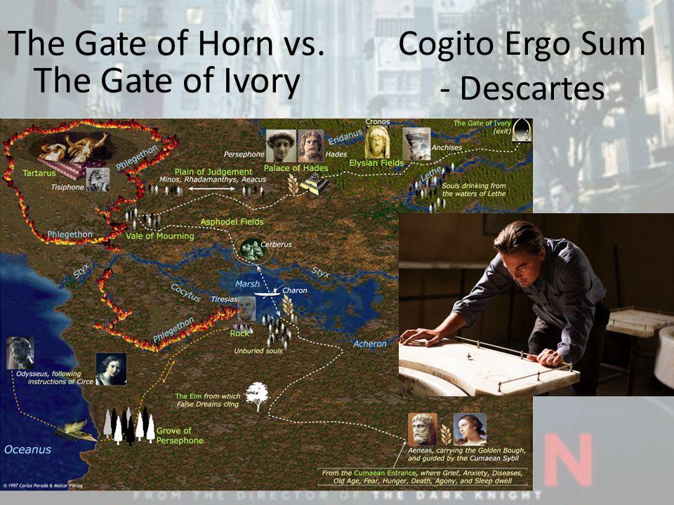 Cogito Ergo Sum - Descartes The Gate of Horn vs. The Gate of Ivory