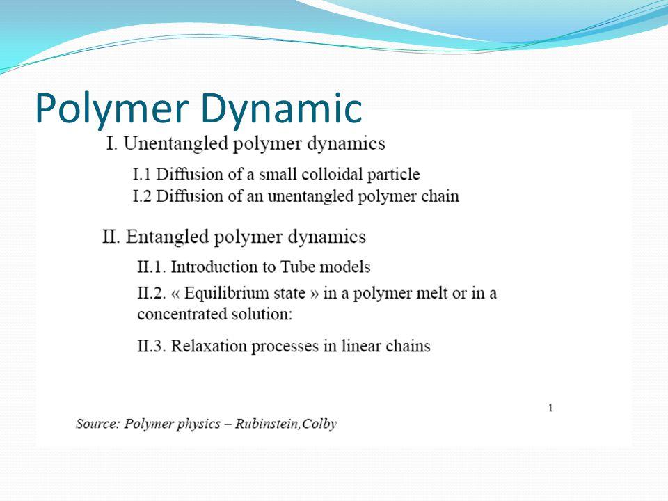 Polymer Dynamic