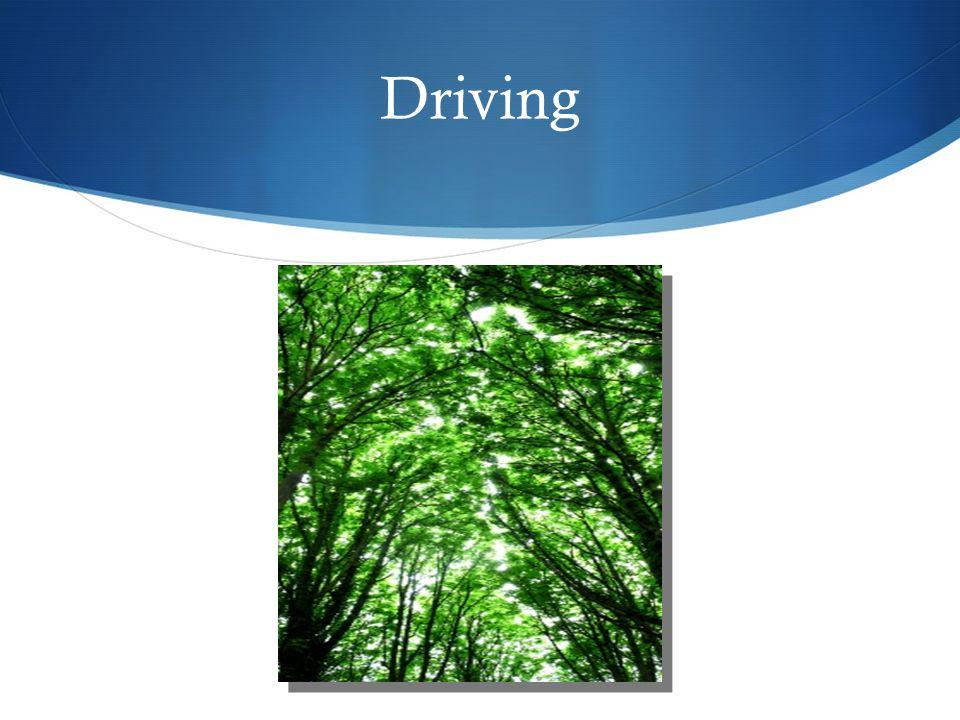Drive smart – fill up less