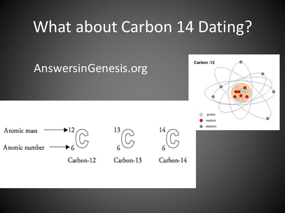 What about Carbon 14 Dating? AnswersinGenesis.org