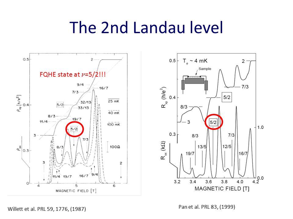 FQH interferometer Willett et al.