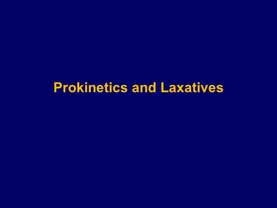 Prokinetics and Laxatives