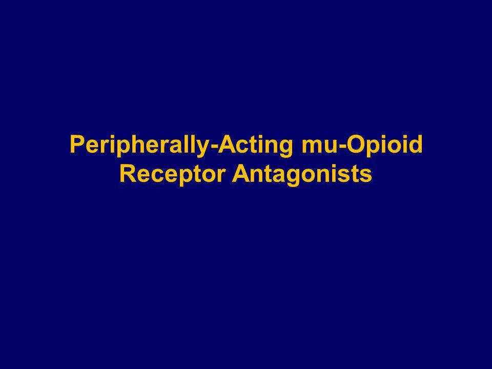 Peripherally-Acting mu-Opioid Receptor Antagonists