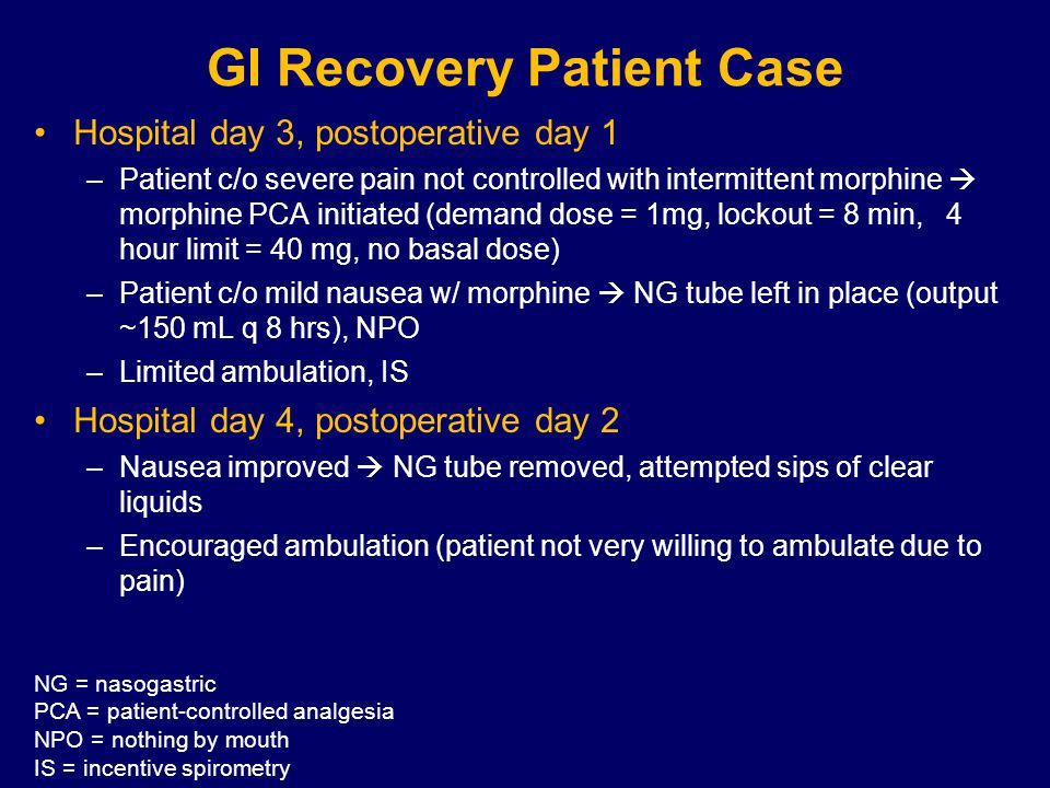 Summary: Pharmacologic Therapies With NO Proven Benefit Prokinetic agents (erythromycin, metoclopramide)