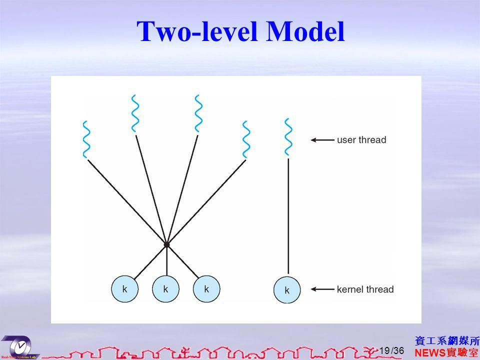 資工系網媒所 NEWS 實驗室 Two-level Model /3619