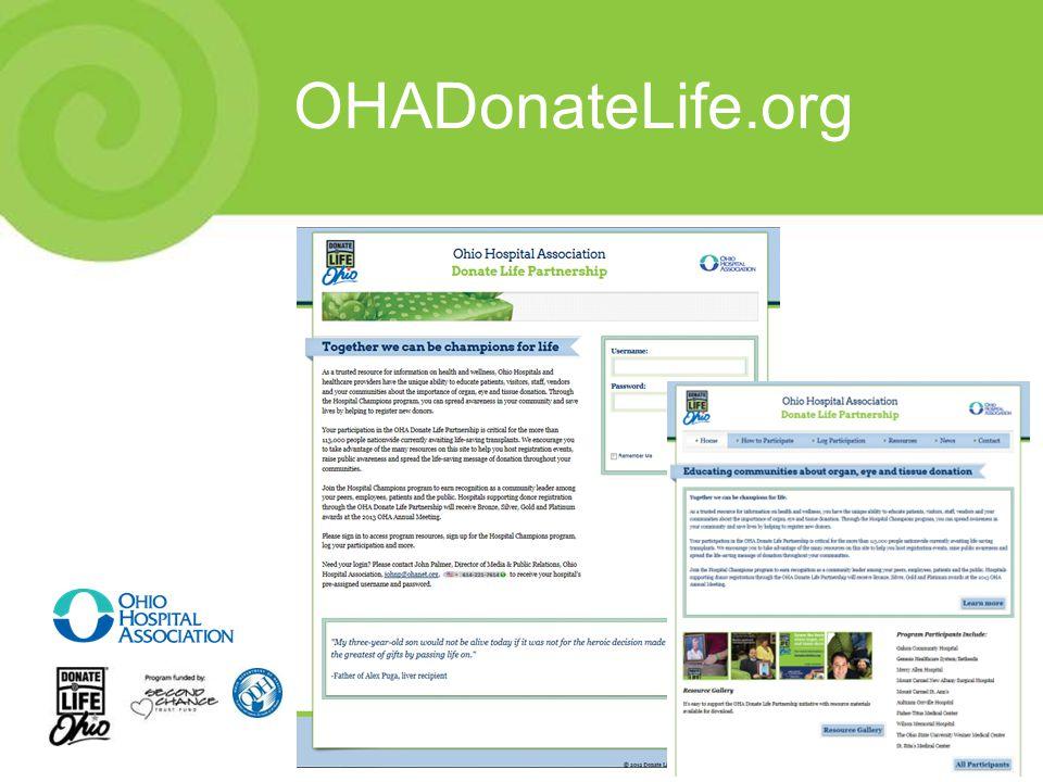 OHADonateLife.org