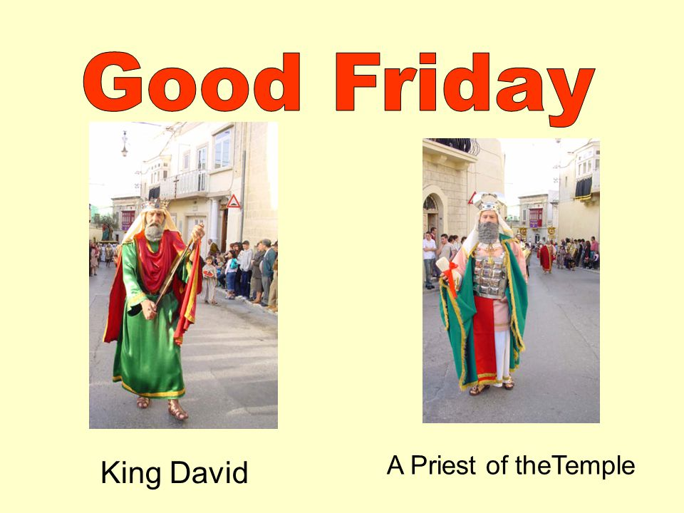 King David A Priest of theTemple