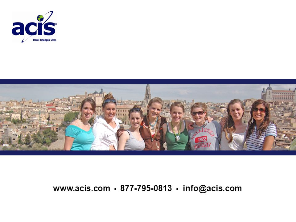 www.acis.com 877-795-0813 info@acis.com