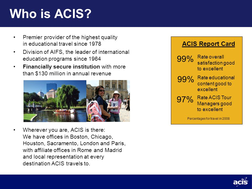 Who is ACIS.