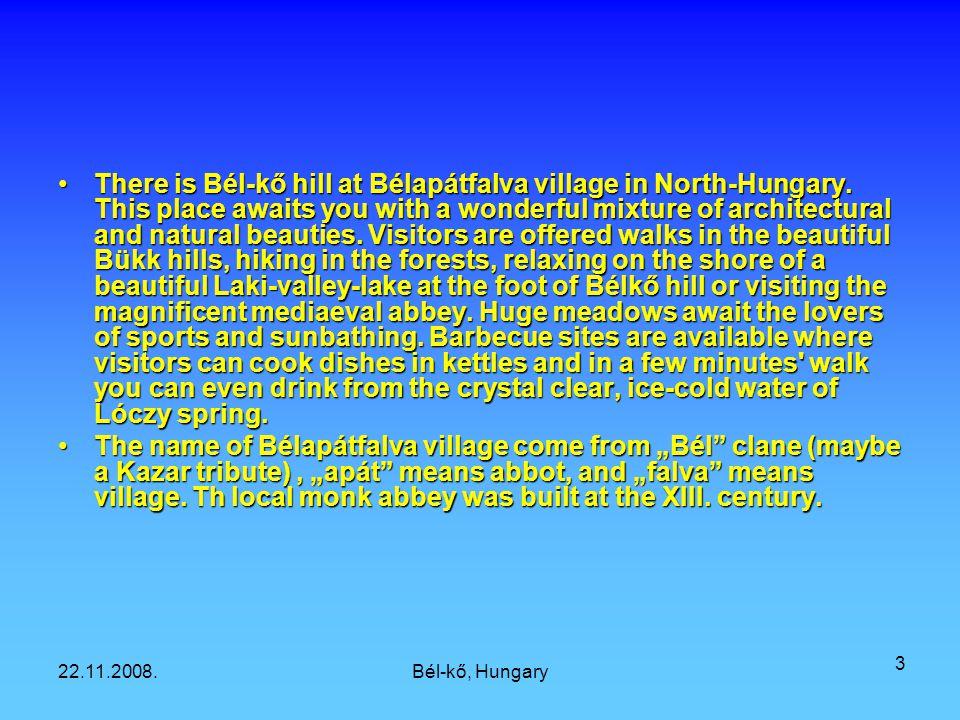 22.11.2008.Bél-kő, Hungary 2 Bélapátfalva