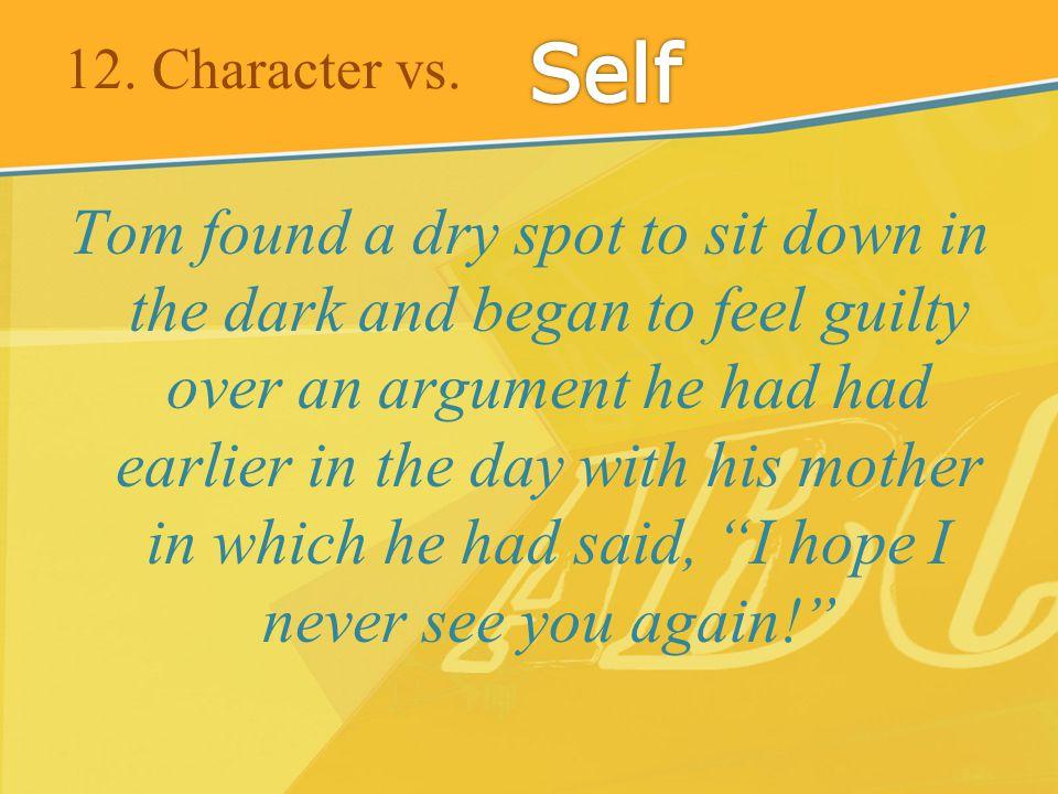 12. Character vs.