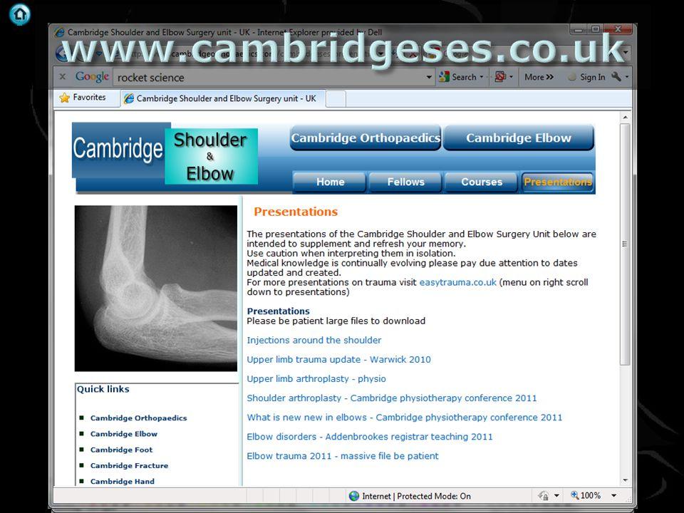 . Rheumatology 2006;45:215–221 office@cambridgemedicalpractice.co.uk