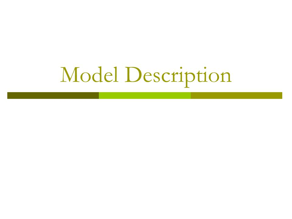 Model Description