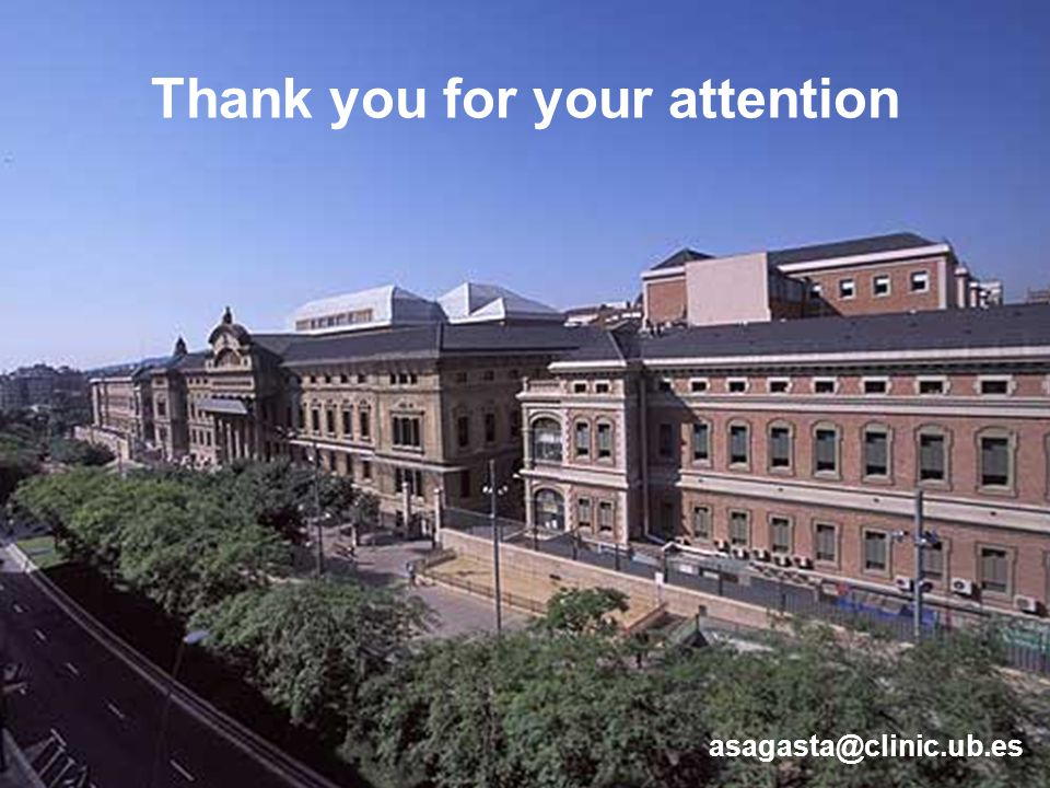 asagasta@clinic.ub.es Thank you for your attention