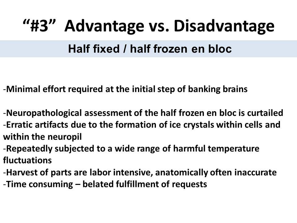 #3 Advantage vs.