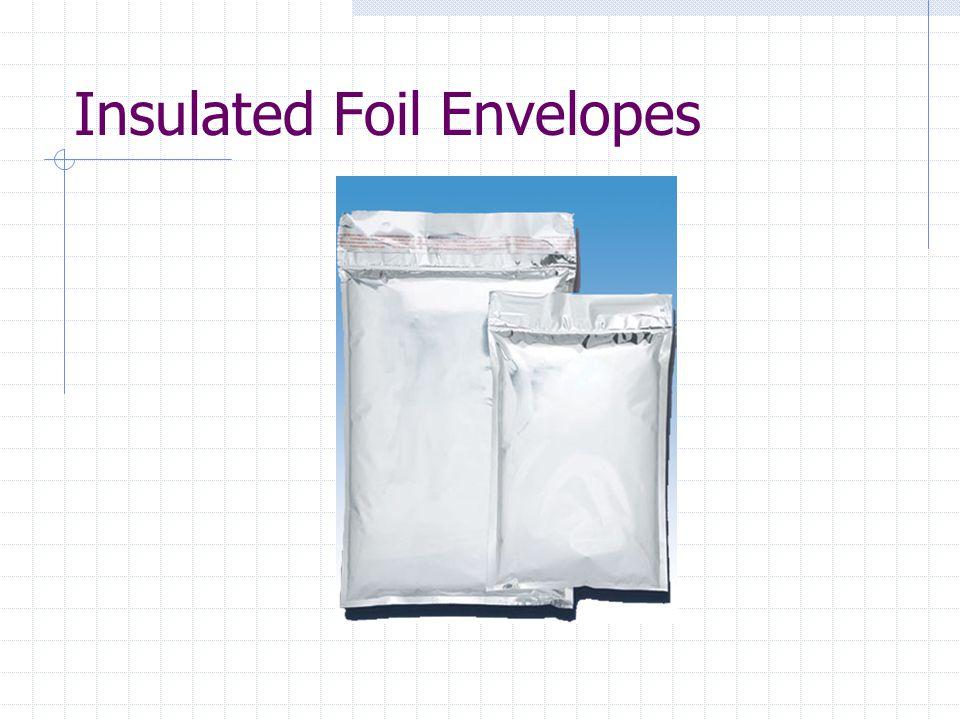 Insulated Foil Envelopes