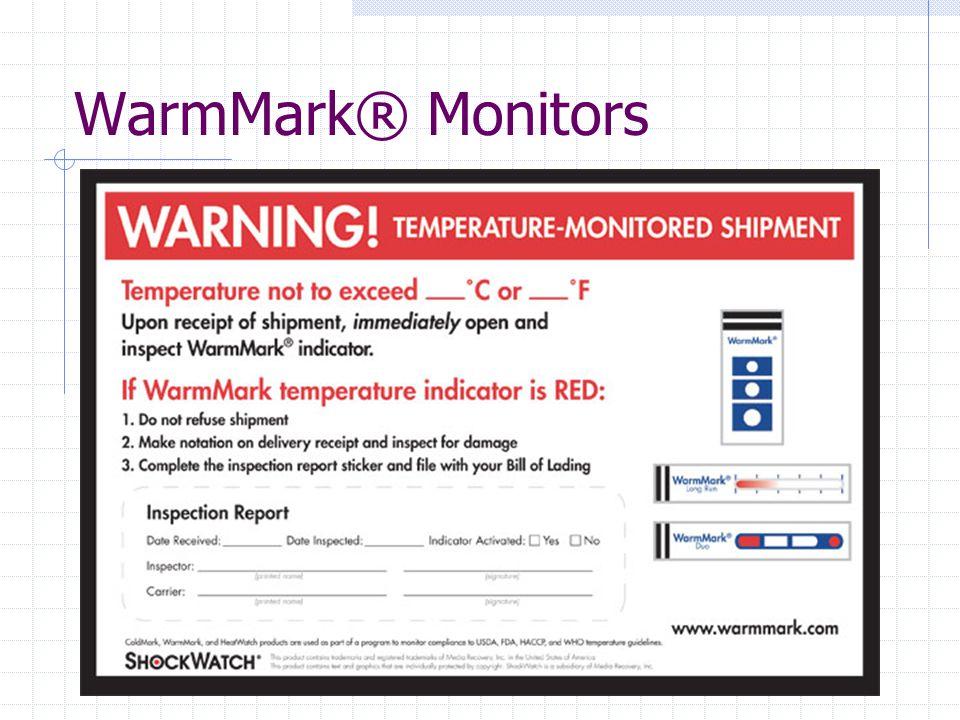 WarmMark® Monitors