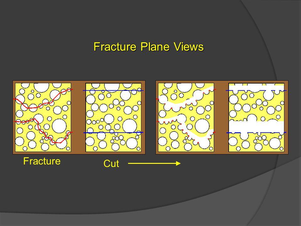 Fracture Plane Views Fracture Cut