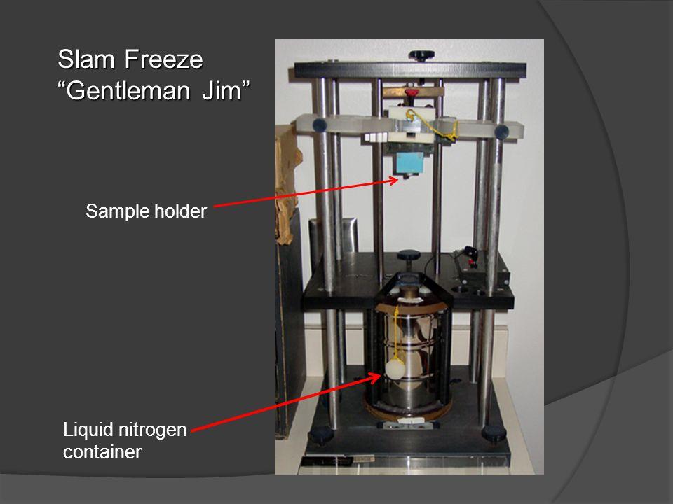 Slam Freeze Gentleman Jim Liquid nitrogen container Sample holder