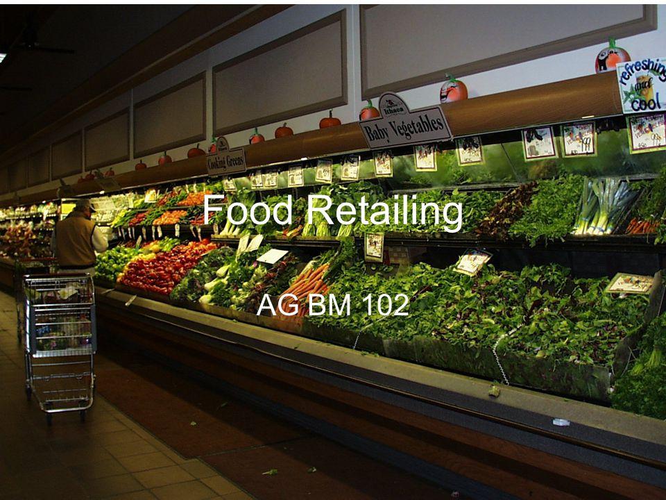 Food Retailing AG BM 102