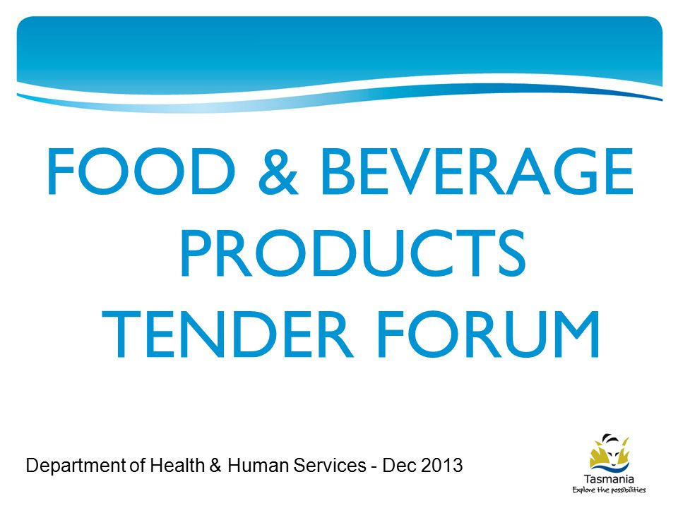 The following will be covered this evening: Details of planned food tender Tips for responding to tender Other opportunities for local producers Other Government Agencies that may be able to assist you.