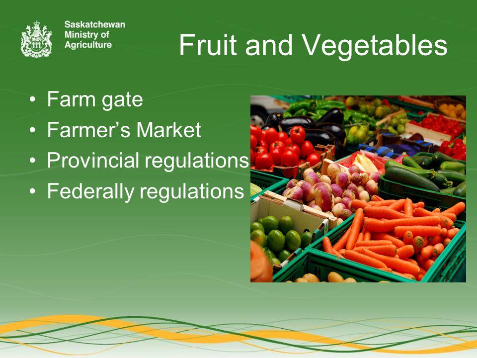 Chris Smith Food Safety Specialist, Livestock Branch Saskatchewan Ministry of Agriculture 3085 Albert Street Regina, SK; S4S 0B1 306-787-4692