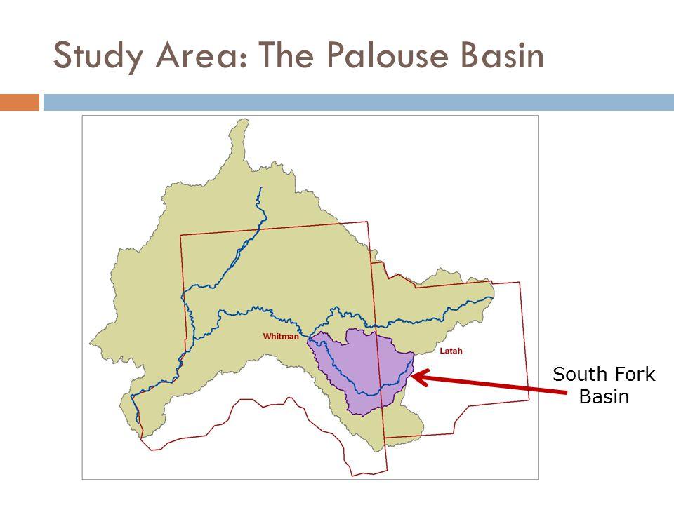 Study Area: The Palouse Basin South Fork Basin