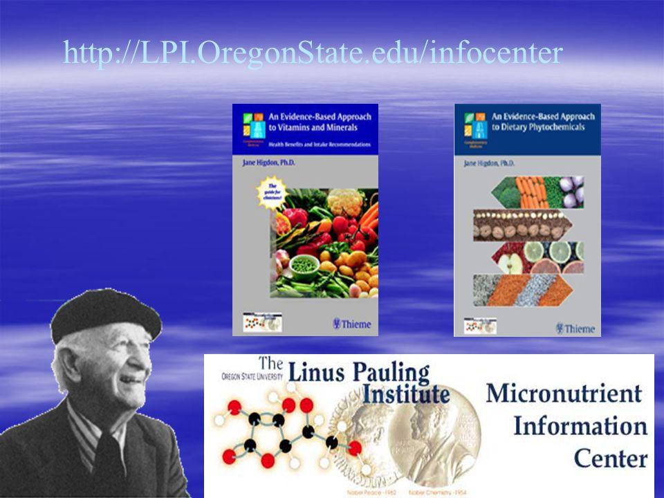 http://LPI.OregonState.edu/infocenter