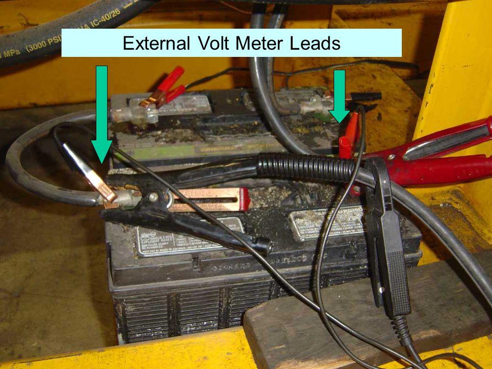 External Volt Meter Leads