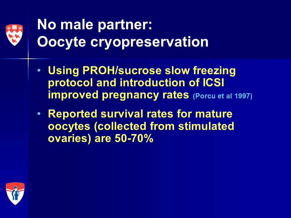 Conclusions Vitrification of in-vitro matured oocytes collected from unstimulated ovaries followed by later thawing and fertilization can result in successful pregnancies and live births