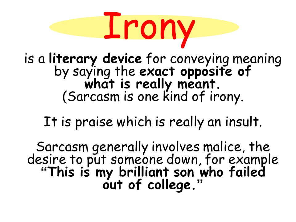 Life is filled with ironies.