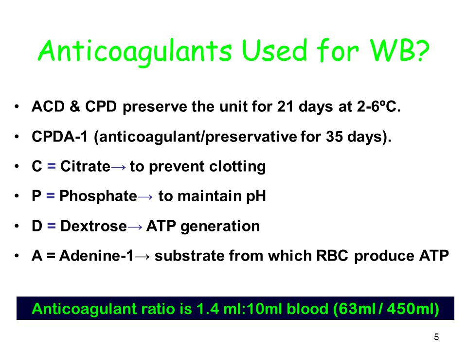 65 Blood products & treatment of specific clotting factor deficiencies DeficiencyBlood product Indicated Fibrinogen Cryoprecipitate Stored plasma Factor V Fresh frozen plasma Frozen plasma Factor VII Factor IX concentrate Stored plasma Factor VIII Factor VIII concentrate Cryoprecipitate Von Willebrand's Disease Cryoprecipitate Fresh frozen plasma Frozen plasma Factor IX Factor IX concentrate Factor X Stored plasma Factor XI Stored plasma Factor XIII Stored plasma