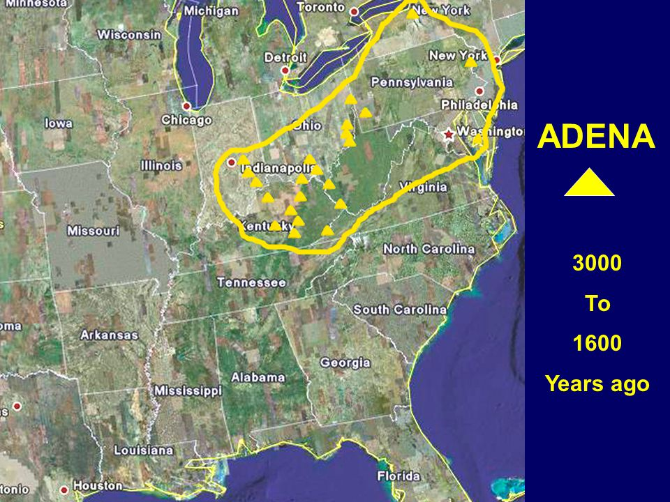 ADENA 3000 To 1600 Years ago