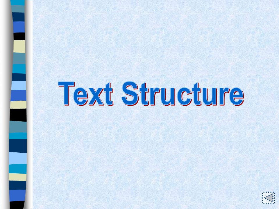 Text Structure Sentence Study Words and Phrases