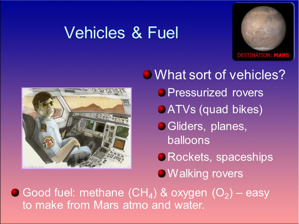 Vehicles & Fuel What sort of vehicles.