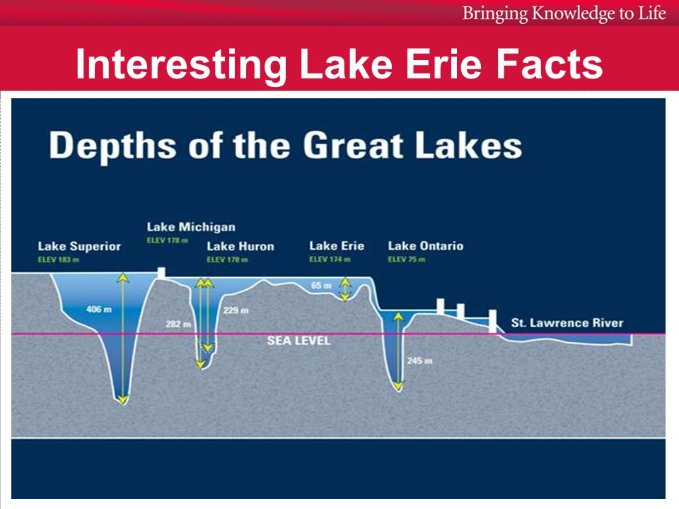 Interesting Lake Erie Facts