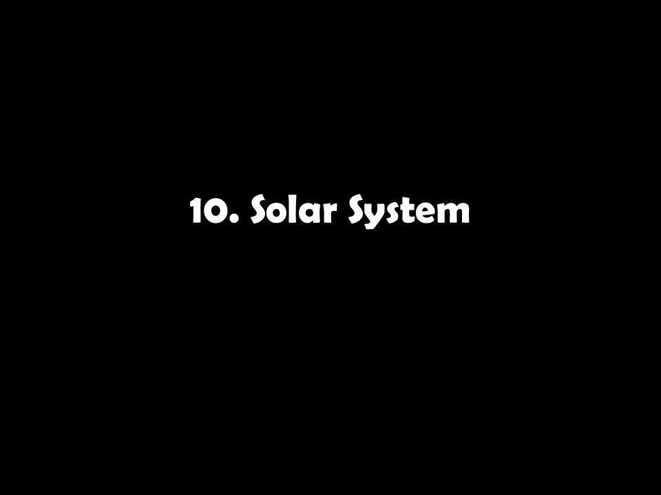 10. Solar System